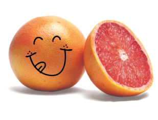 grapefruit-smile